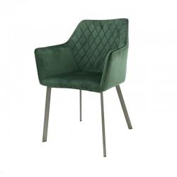 Lot 2 chaises fauteuils avec accoudoirs