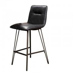 Lot 2 chaises hautes pieds forme V