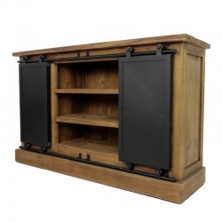Buffet portes coulissantes 140 Burny